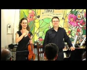 Malgorzata Staszewska e Giuseppe Lupis