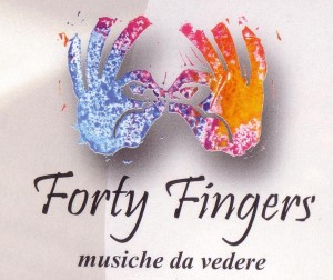 logo FortyFingers-musiche da vedere
