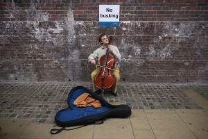 London Street Musician (immagine via bbc.co.uk)