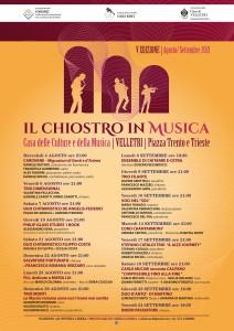 locandina CHIOSTRO IN MUSICA - 2021